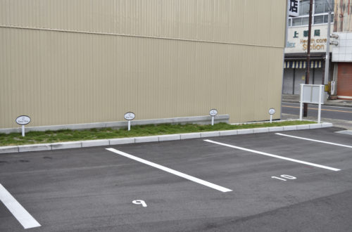 BeansBase駐車場